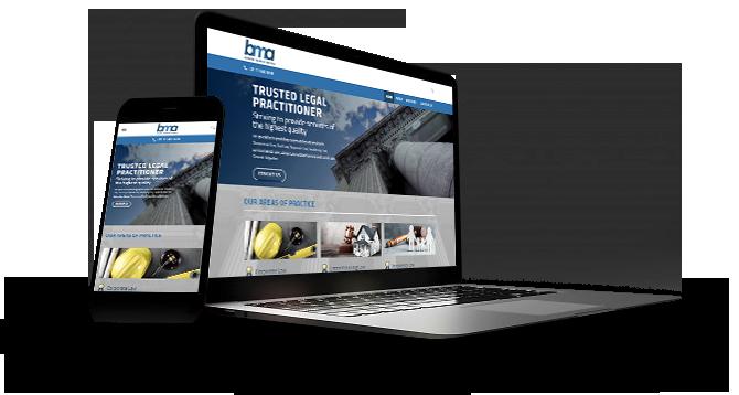 Full Funnel Studios Website Design Bridgette Mokoetle Attorneys